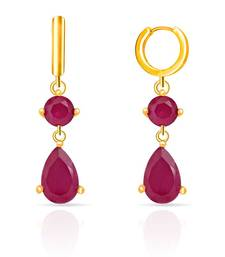 Mahi Gold Plated Ruby Drops shop online
