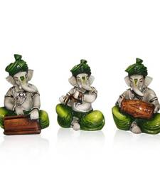 Buy Set of 3 Instrumental Ganesha gifts-for-wife online