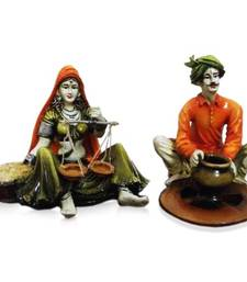 Buy Set of 2 Rajasthani Couple other-home-accessory online