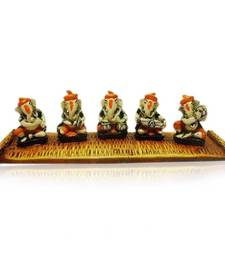 Buy Set of 5 Ganesha on Chatai gifts-for-husband online