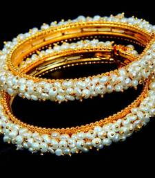 Buy NATURAL PEARLS BANGLES FRO HYDERABAD JEWELS bangles-and-bracelet online
