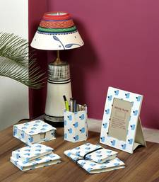 Buy Blue Bird Printed Hand Made Paper Gift Set photo-frame online