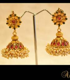 Buy New Temple Jewellery - Jhumka 1 jhumka online