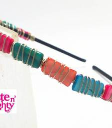 Color me crazy Multi-Color hair band shop online