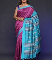 Buy Tusser Silk Saree - ECO STREE silk-saree online