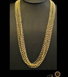 Buy Alankruthi Pearl Necklace Set 2 Necklace online