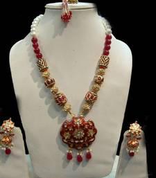Buy kundan necklace-set online