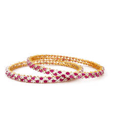 Buy Design no. 16.812....Rs. 2500 pair. bangles-and-bracelet online