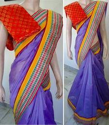 Buy adorable saree chanderi-saree online