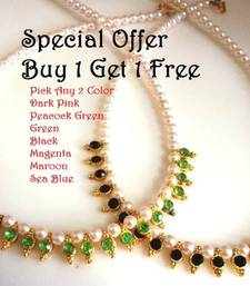 Buy Buy 1 get 1 free pearl necklace set necklace-set online