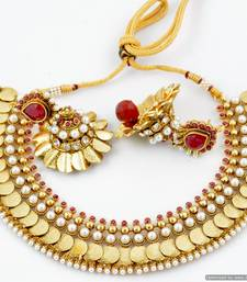 Buy Coin Necklace Collection 10 south-indian-jewellery online
