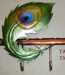 Buy Peacock Key Holder wall-decal online
