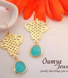 Buy Mint Oriental earrings Earring online