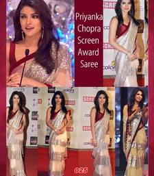 Buy Biege saree priyanka-chopra-saree online