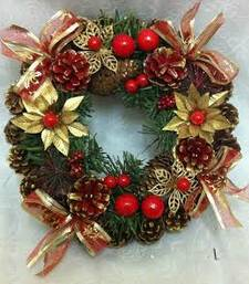 Buy Christmas pine cone wreath - Christmas Gifts christmas-gift online
