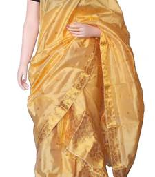 Pure Assam Silk Mekhela Chador with exotic Golden Thread Weaving works shop online