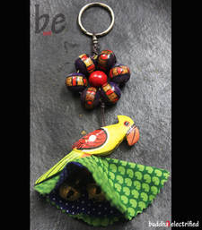 Buy Key Chain - Indian Parakeet key-chain online