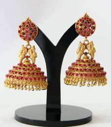 Buy BEAUTIFUL ANTIQUE BIG SIZE JHUMKA(LENGTH 2.6 INCHES) Other online