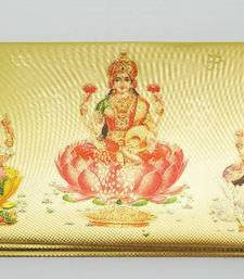 Buy Gold Foil Envelops with Lakshmi wedding-gift online
