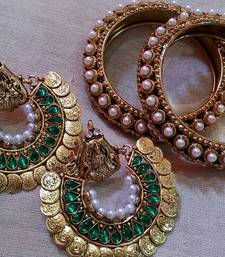 Designer Kada with Ram Leela Earings shop online