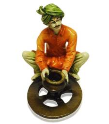 Buy Rajasthani Man Making Pottery gifts-for-dad online
