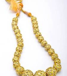 Buy EXOTIC JAIPUR BALLS GRADED MALA (AD) - PCN1042 Necklace online