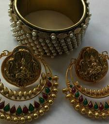 Bollywood Ram Leela Earings & Traditional kada shop online