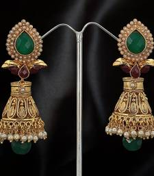 traditional south Indian jhumki