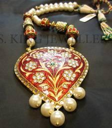 Buy Kundan Meena Jewellery necklace-set online