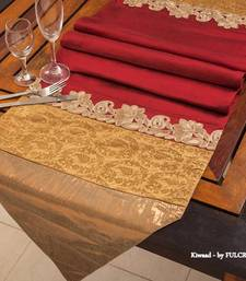 Buy Runner - Maroon table-mats-and-runner online