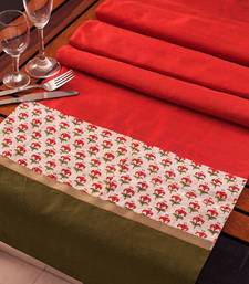 Buy Runner - Peach  table-mats-and-runner online