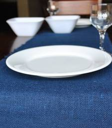 Buy Eco Home Jute Table Runner - Indigo table-mats-and-runner online