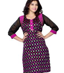 Buy Designer Kurti made from Georgette by DIVA FASHION-Surat kurtas-and-kurti online