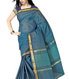 Traditional Latest Ethnic Pure Cotton Zari Saree PS500 shop online