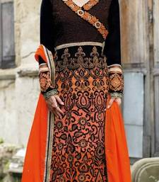 Buy Designer Long Straight Suit dress online