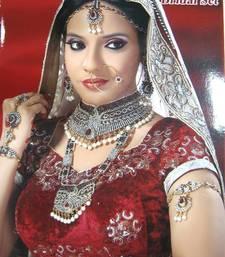 Buy Royal Designer Ethnic Collection No. bridal, 8 pcs set bridal-set online