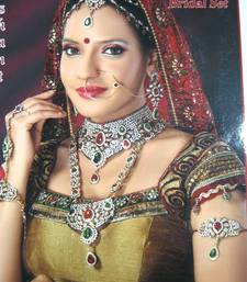 Buy Royal Designer Ethnic Collection No.bridal. 8 pcs set bridal-set online