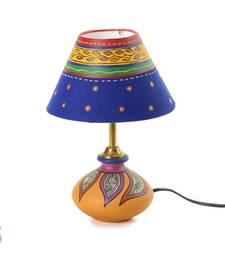 Buy Multicolour Handcrafted Terracotta Lampshade gifts-for-mom online