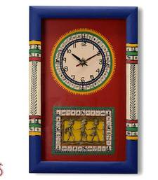 Buy Tribal Art Hand painted Wall Clock gifts-for-mom online