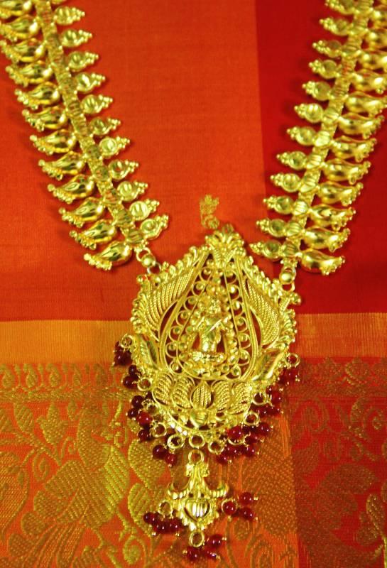 Buy Kerala Bridal Temple Jewellery Lakshmi Haram Online