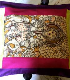 Buy pen kalamkari cushion covers kalamkari-saree online