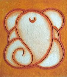 Buy Abstract ganesha painting 03 painting online