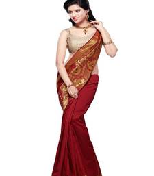 Latest Traditional Ethnic Art silk Bridal Wedding Wear Saree PU011A shop online
