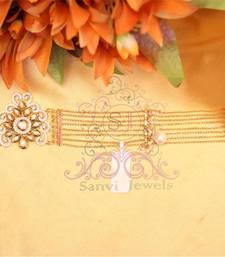 Buy Royal Kundan & Meenakari Bracelet  Bracelet online