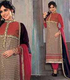 Buy Neha Sharma Awesome Designer Straight Suit salwars-and-churidar online