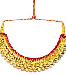 Buy Big Thushi Traditional maharashtrian necklace Necklace online