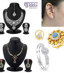 Buy Sukkhi Briliant 6 Piece Fashion Jewellery Combo(249CB5200) jewellery-combo online