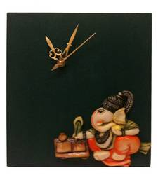 Buy Ganesha Wall Hanging Wall Clock wall-clock online