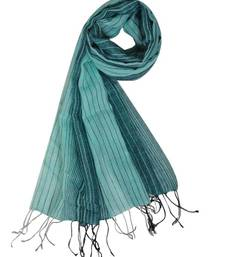 Buy GREEN CHECK STOLE BY ELABORE stole-and-dupatta online
