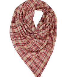 Buy MULTICOLORED CHECK STOLE BY ELABORE stole-and-dupatta online